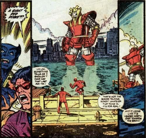 Avengers Red Ronin