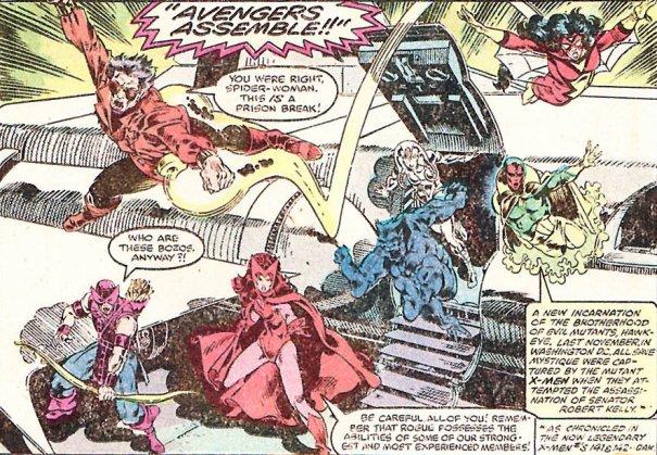 Avengers Annual 10-19