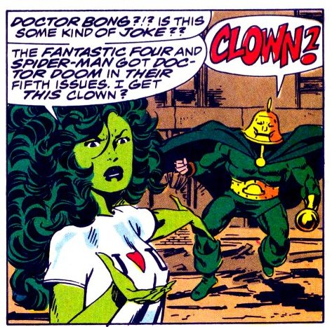 Fun Fact: Jen Walters, AKA The Sensational SHE-HULK, was Deadpool before Deadpool was even a thing. : TwoBestFriendsPlay