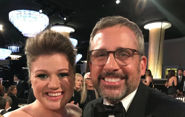 Steve-Carell-Kelly-Clarkson