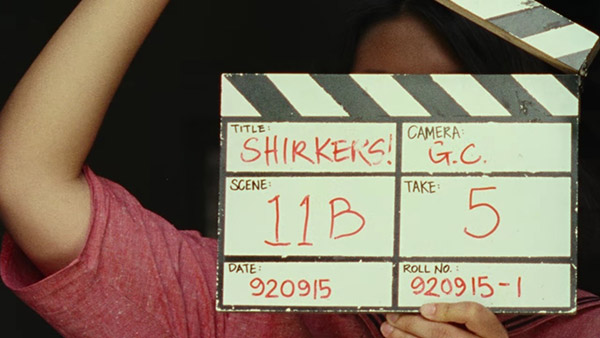 shirkers clapboard