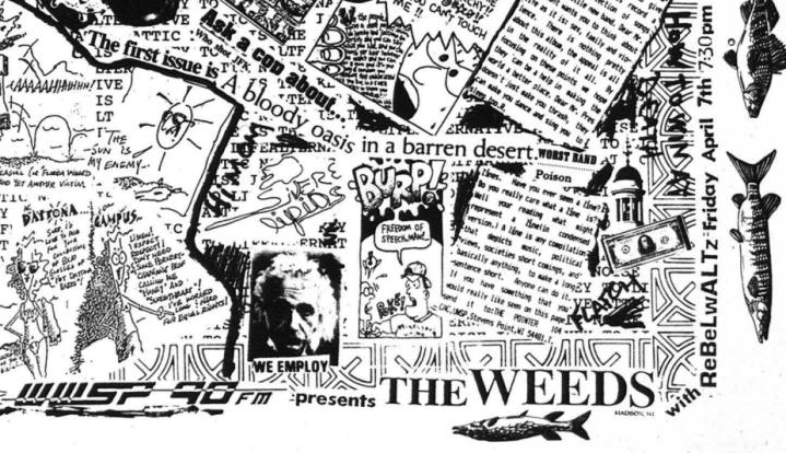 weeds concenrt