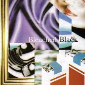 bleached black