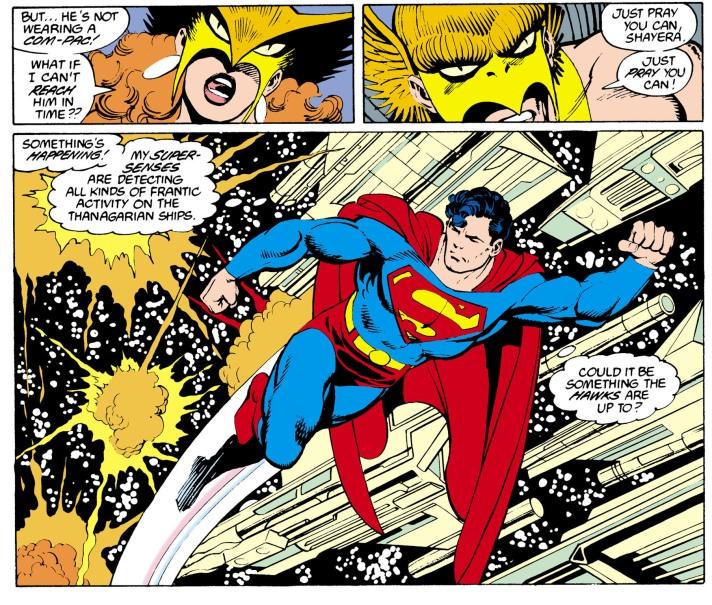 Action Comics hawks