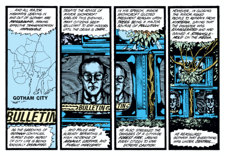 swamp thing 1st panels