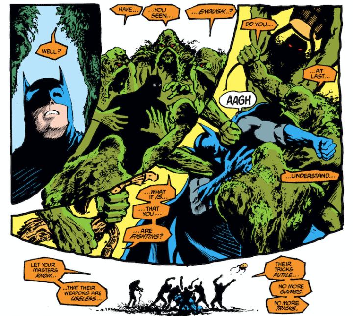 swamp thing batman