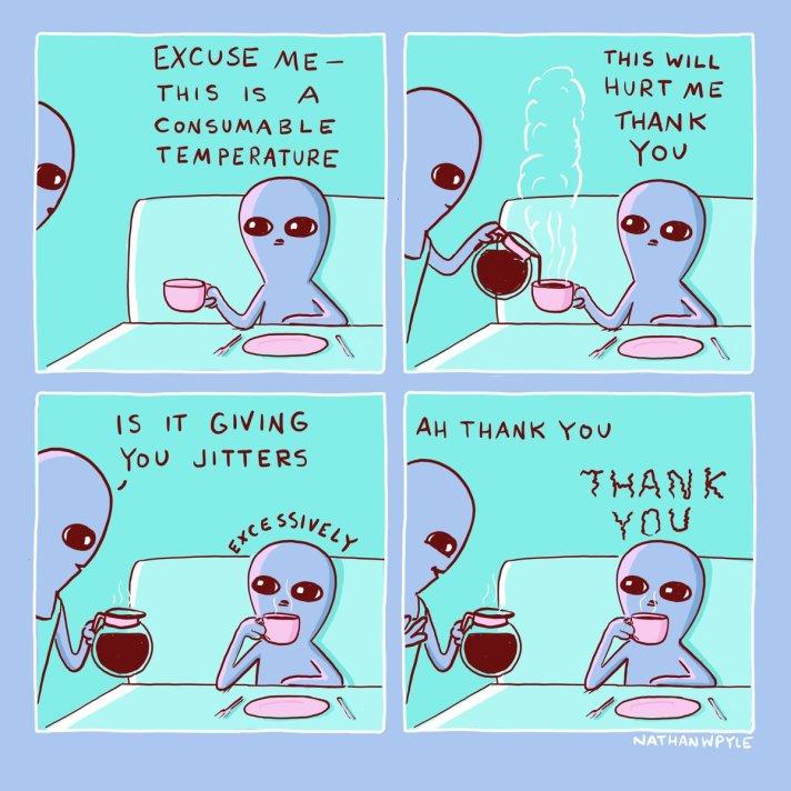 strange planet coffee