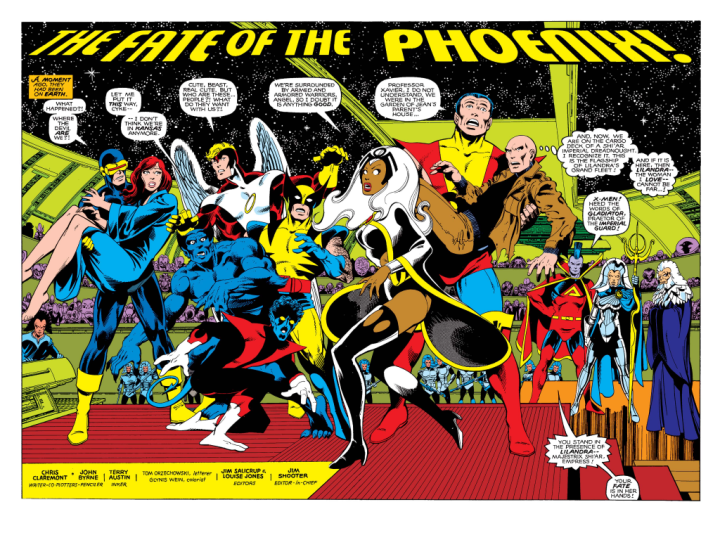 X-Men 137 splash