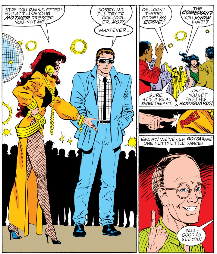 spider man disco
