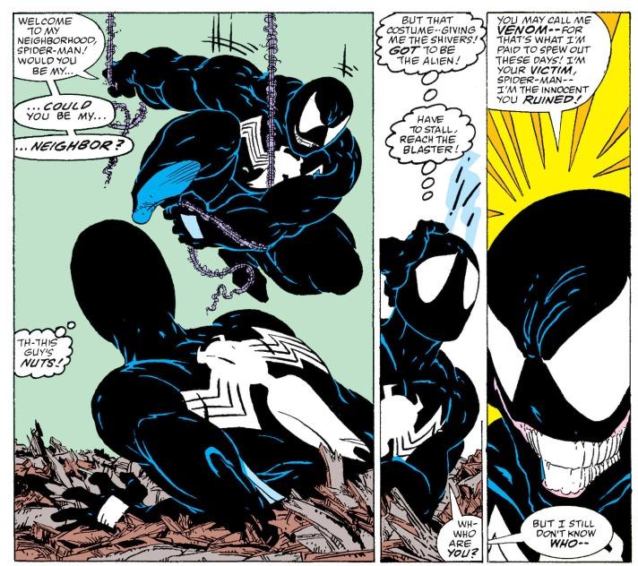 spider man venom