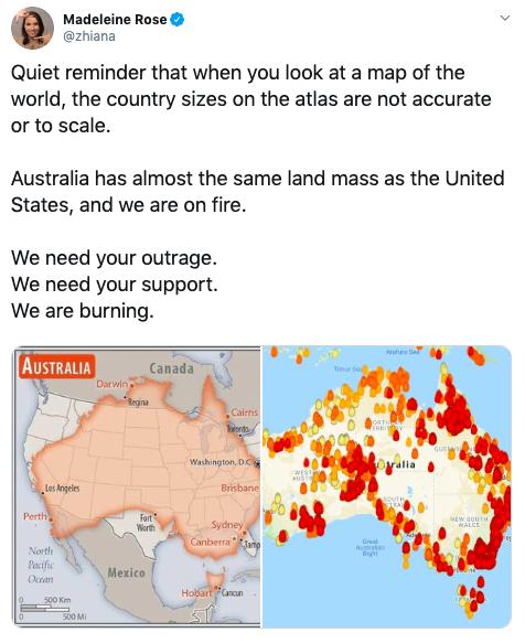 australia tweet