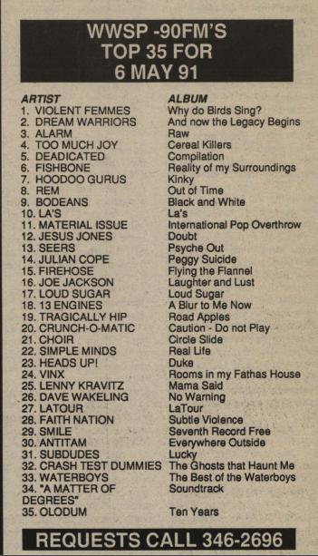 Top 35 May 91