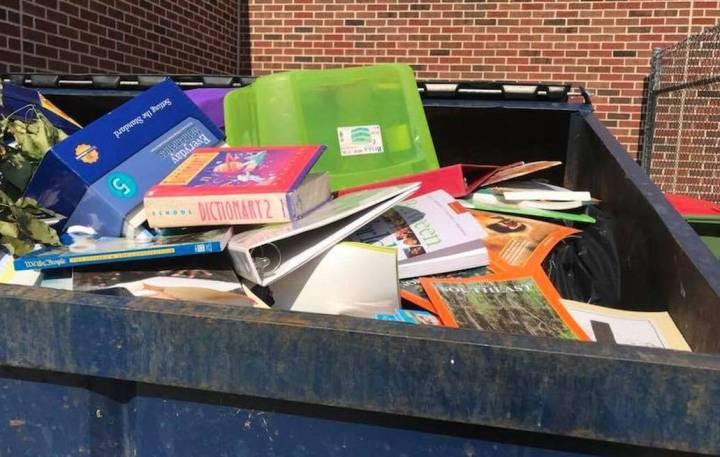 dumpster books