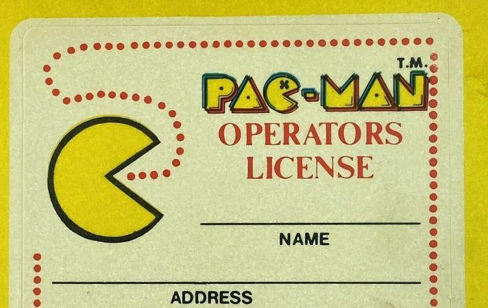 pac man operator