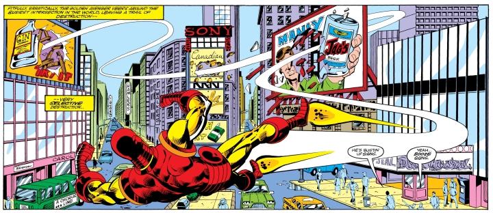 Iron Man bilbboards