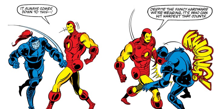 iron man victory